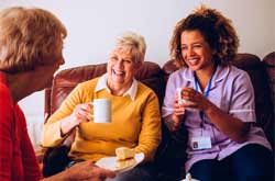 True Angels Home Care SOCIALIZATION and friendship